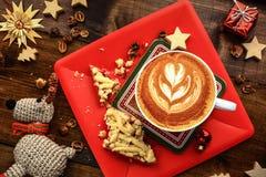 Prima colazione di Natale Immagine Stock