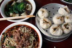Prima colazione di Sichuanese Fotografia Stock
