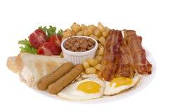 Prima colazione di Traditionnal immagine stock