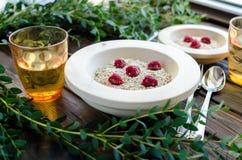 Prima colazione dietetica utile Fotografie Stock Libere da Diritti