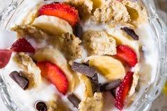 Prima colazione dolce immagini stock