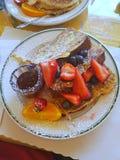 Prima colazione dolce Immagine Stock