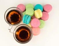 prima colazione dolce piacevole di colore Immagine Stock