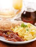Prima colazione enorme luminosa Fotografia Stock