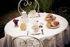 Prima colazione francese Immagine Stock