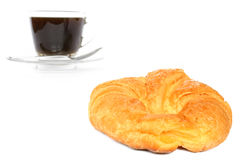Prima colazione francese Immagine Stock Libera da Diritti