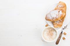 Prima colazione francese Fotografia Stock
