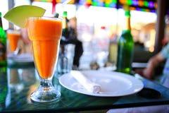 Prima colazione fresca del mango Fotografia Stock