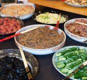 Prima colazione giapponese Fotografia Stock