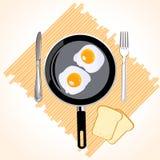 Prima colazione inglese Fotografie Stock Libere da Diritti