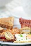 Prima colazione inglese Immagini Stock