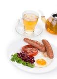 Prima colazione inglese Immagine Stock Libera da Diritti