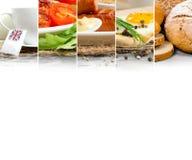 Prima colazione inglese Fotografia Stock