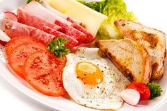 Prima colazione inglese Immagini Stock Libere da Diritti