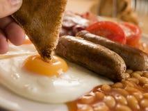 Prima colazione inglese piena Fotografia Stock Libera da Diritti