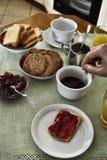 Prima colazione italiana Fotografie Stock Libere da Diritti