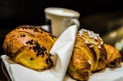 Prima colazione italiana Immagine Stock