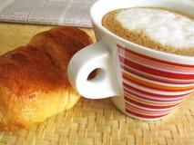 Prima colazione italiana Immagini Stock