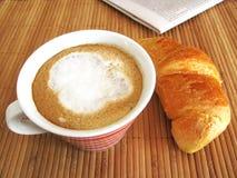 Prima colazione italiana Fotografie Stock