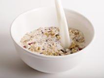 Prima colazione liscia del cereale Fotografia Stock