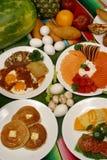 Prima colazione messicana Immagini Stock