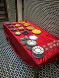 Prima colazione in Morocoo fotografia stock libera da diritti