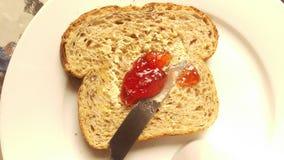 Prima colazione nella mattina Fotografia Stock Libera da Diritti