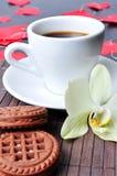 Prima colazione per amato Immagine Stock Libera da Diritti