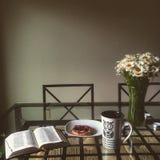 Prima colazione per una persona Immagini Stock