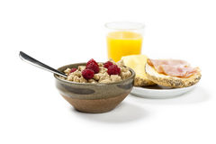Prima colazione piacevole Immagini Stock
