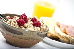 Prima colazione piacevole Fotografie Stock Libere da Diritti