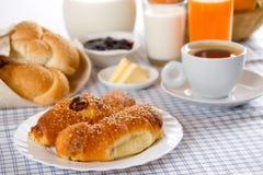 Prima colazione ricca e sana Immagini Stock