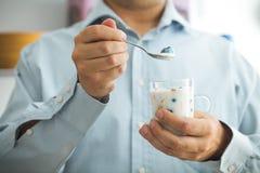 Prima colazione sana di mattina immagine stock libera da diritti