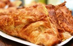 Prima colazione sana di recente al forno di mattina Fotografia Stock