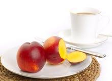 Prima colazione sana semplice fotografie stock