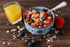La mia prima colazione sana Fotografia Stock