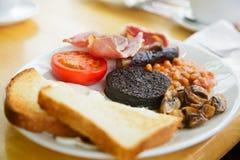 Prima colazione scozzese piena Immagini Stock Libere da Diritti