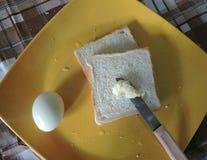 Prima colazione semplice fotografie stock