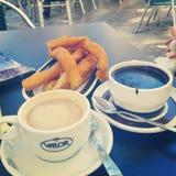 Prima colazione spagnola Fotografie Stock