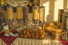 Prima colazione a Tbilisi Immagini Stock Libere da Diritti