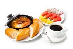Prima colazione tradizionale Immagine Stock Libera da Diritti