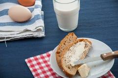 Prima colazione tradizionale del paese Fotografie Stock Libere da Diritti