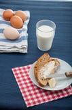 Prima colazione tradizionale del paese Immagine Stock