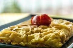 Prima colazione tradizionale della Grecia Fotografie Stock