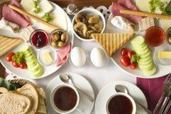 Prima colazione turca fotografie stock