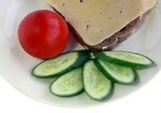 Prima colazione vegetariana Immagini Stock