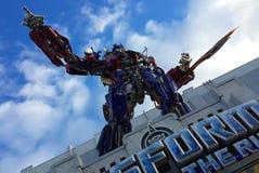 Prima de Optimus dos transformadores Fotografia de Stock