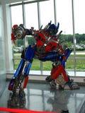 Prima de Optimus el transformador fotos de archivo