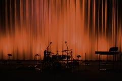 Prima del concerto Fotografie Stock Libere da Diritti