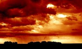 Prima della tempesta immagini stock libere da diritti